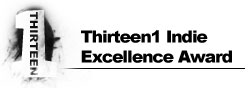 Thirteen1 Indie Excellence Award
